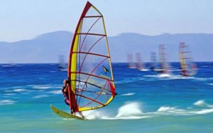 Windsurfing, surfing, water sports, groups, water, malta