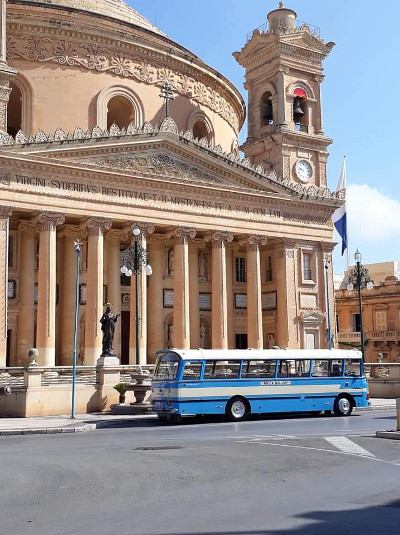 Malta Vintage Bus